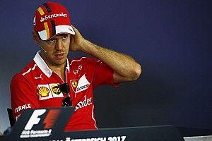 【F1】ベッテル「レースの後、ハミルトンに謝罪文を送っていた」