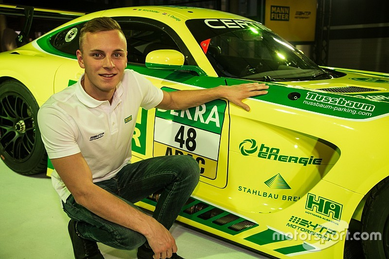 GP2 graduate Kirchhofer joins HTP Mercedes in ADAC GT