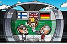 Vídeo: así vieron los 'MiniDrivers' el GP de Italia 2017
