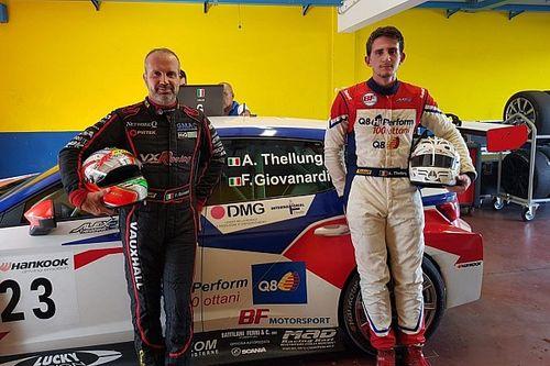 Fabrizio Giovanardi torna in pista a Vallelunga con una SEAT León TCR