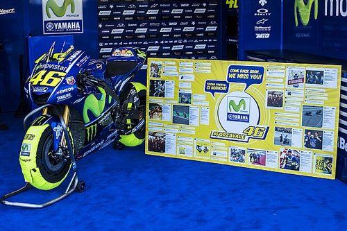En Yamaha no descartan un regreso de Rossi en Aragón