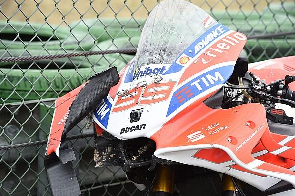 MotoGP Мізано побив рекорд MotoGP за кількістю аварій