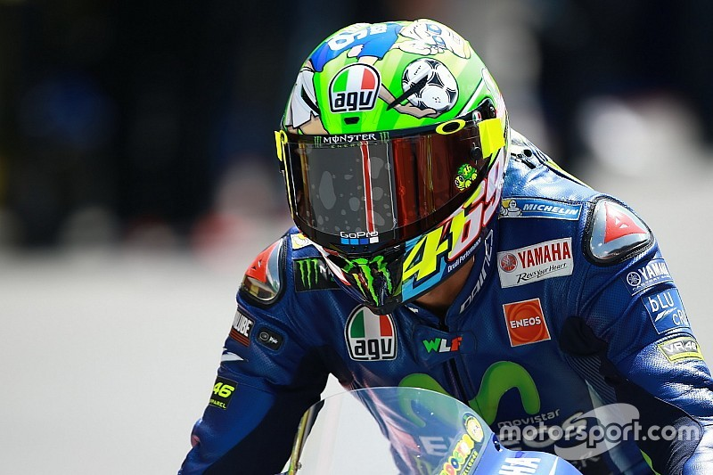 "Rossi says ""physical condition"" cost him Mugello podium"