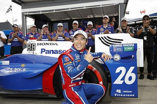 Detroit IndyCar: Sato leads all-Andretti front row for Race 2