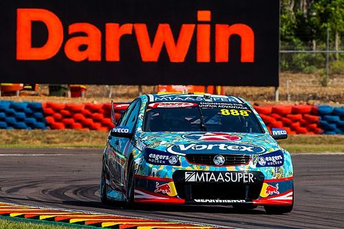 Darwin V8s: Lowndes takes provisional Sunday pole