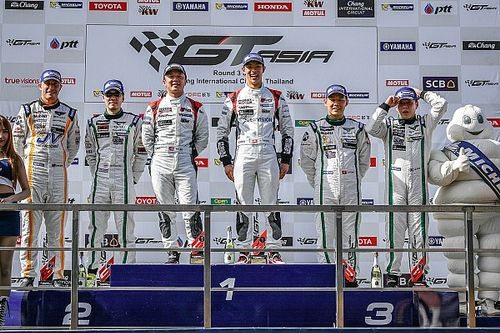 GT Asia Series victory for Phoenix Racing Asia in Thailand