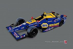 Rossi picks up NAPA as a primary sponsor for the Indy 500
