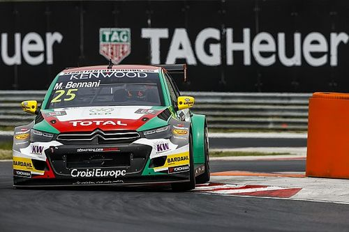 Hungary WTCC: Bennani wins as factory teams mess up strategy