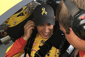 NASCAR Cup Special feature Cancer sufferer checks off bucket list item, thanks to Joey Logano