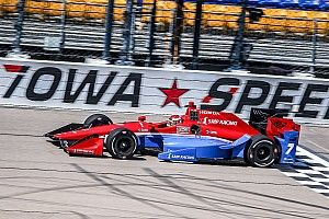 Aleshin pleased with best oval result at Iowa