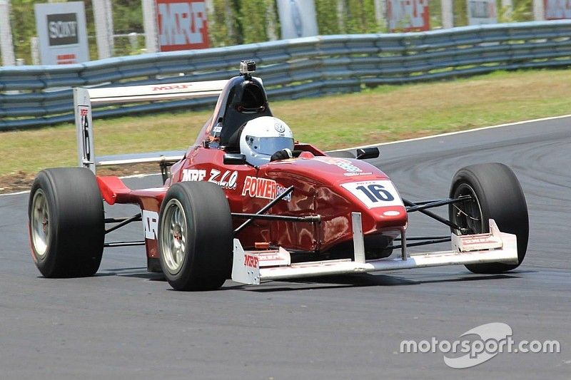Chennai IV MRF F1600: Tharani wins Race 1, Anand second after poor start