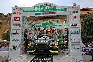 Basso e Ghione centrano il terzo posto al Rally d'Alba