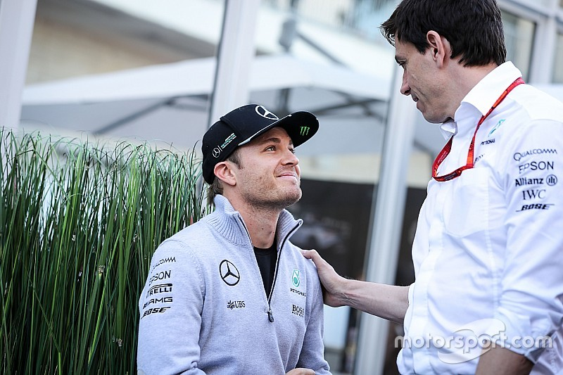 "Mercedes taken ""completely by surprise"" by Rosberg retirement"