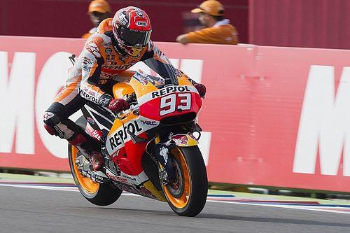 FP3 MotoGP Argentina: Marquez terjatuh, tapi masih yang tercepat