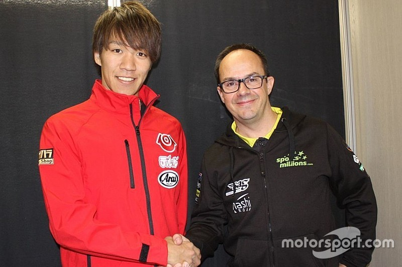 Nagashima resmi digaet SAG Racing Team