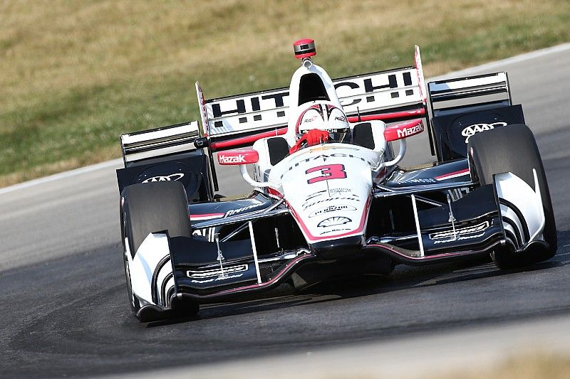 """Castroneves predicts """"fun"""" high tire degradation race at Sonoma"""