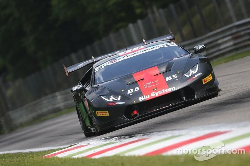 SGT Gup-GT Cup: Necchi e De Lorenzi in rimonta sul bagnato di Monza