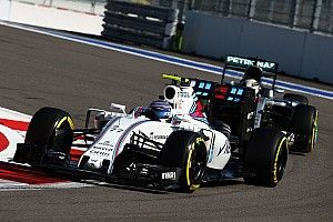 Bottas finished fourth and Massa fifth in today's Russian GP