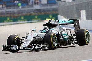 EL1 - Rosberg devance Hamilton de sept dixièmes