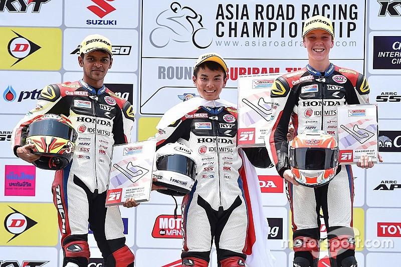 Buriram ARRC: Krishnan scores maiden podium in Asia Dream Cup