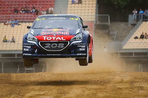 Spain WRX: Hansen maintains lead as qualifying ends