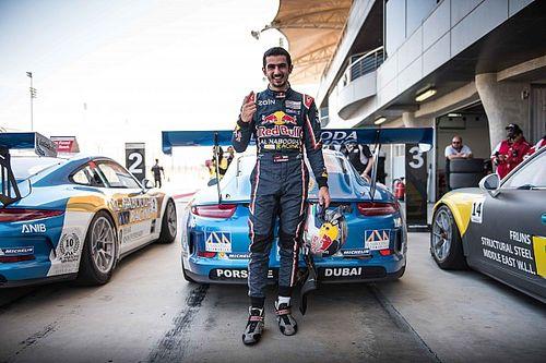 زيد أشكناني يتغلب على شميد محرزاً الفوز بالسباق الأول في البحرين