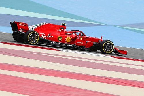 Raikkonen e Vettel batem Mercedes por 0s5 em TL2 no Bahrein