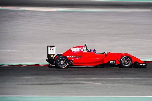 Dubai MRF: Drugovich extends points lead with Race 3 win
