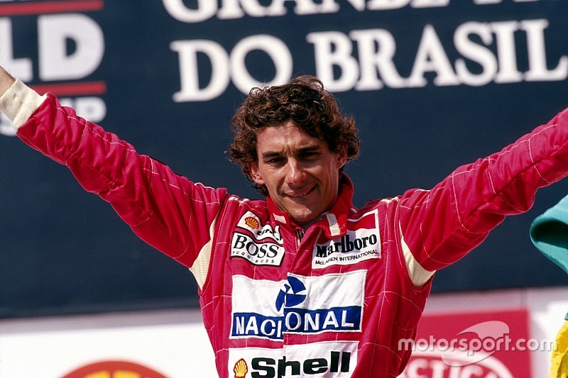 Brundle relata el día en que Senna lo deslumbró