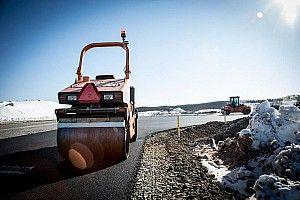 Las tareas de asfaltado comienzan en el Kymiring