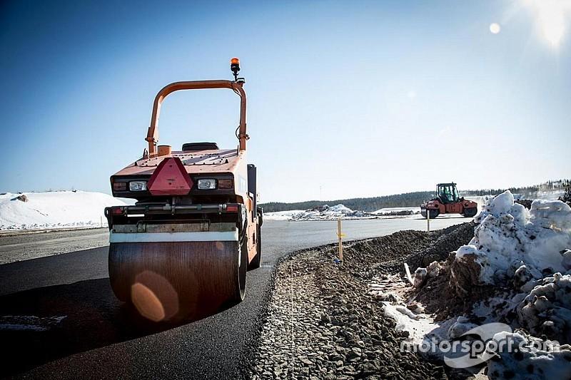 Melihat pembangunan sirkuit MotoGP Finlandia