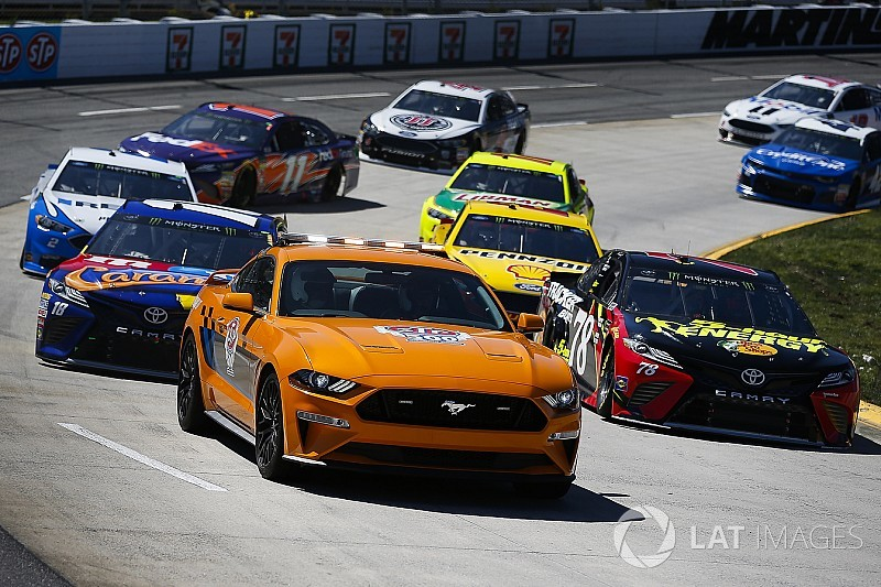 The 'elaborate process' of getting Ford's Cup Mustang approved