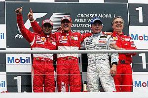GALERIA: Relembre os últimos 10 vencedores do GP da Alemanha