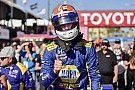 IndyCar Росси переиграл гонщиков Penske и взял поул в Лонг-Бич