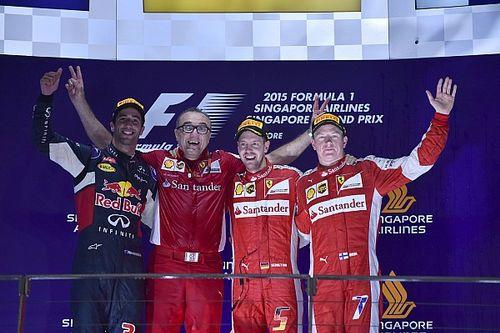 Vettel Klaim Lingkungan Kerja Ferrari Berubah