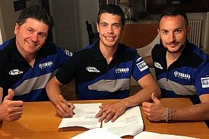 Michele Cervellin entra in Yamaha con il Team SM Action