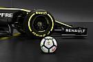 F1 Renault tendrá a la liga española de fútbol como patrocinador
