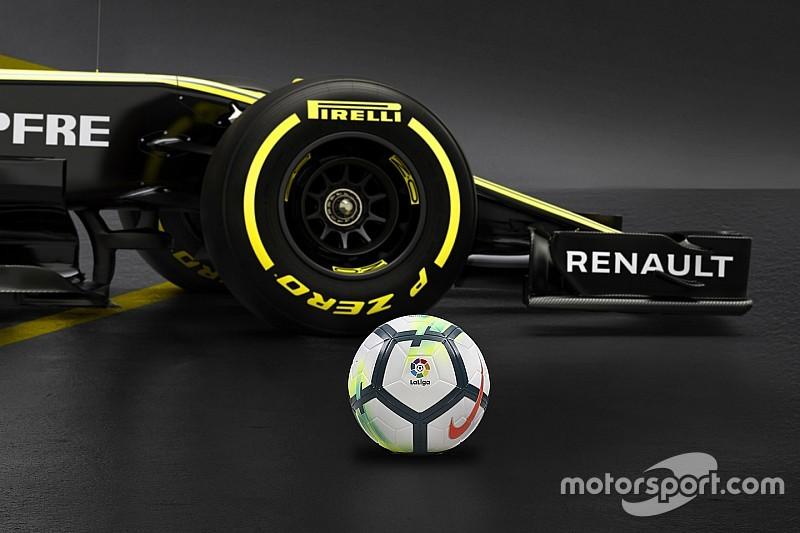 A Renault F1-es csapata megegyezett Spanyolország top labdarúgóligájával