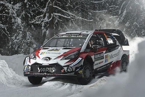Svezia, PS1: subito doppietta Toyota con Tanak e Latvala