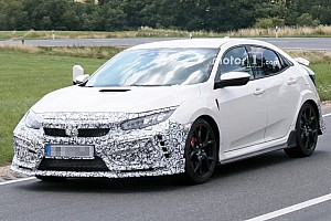 Automotive Breaking news Honda Civic Type R facelift spied – but what is it hiding?