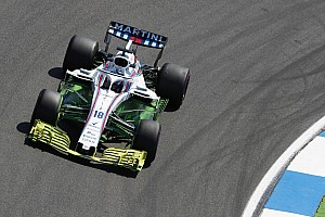 Formula 1 Breaking news New Williams front wing