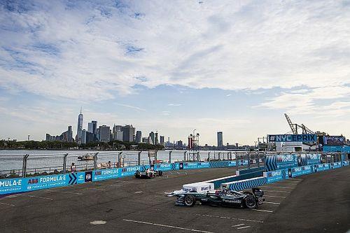 New York ePrix: Evans leads FP2 for Jaguar