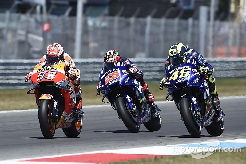 Турнірна таблиця MotoGP після Гран Прі Німеччини