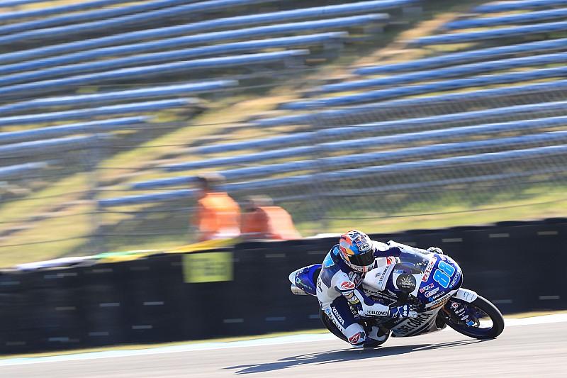 Martín se hace con el récord absoluto de poles en Moto3