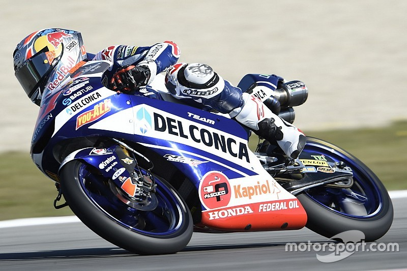 Moto3 Brno: Di Giannantonio wint schitterende groepsrace