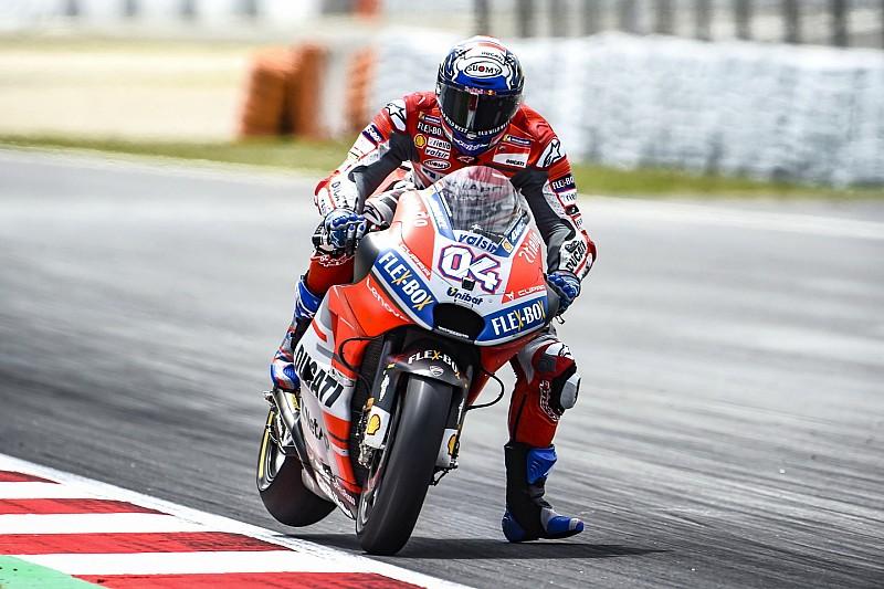 MotoGP Barcelona: Dovizioso ilk sırada, Marquez 2015'ten sonra ilk kez Q1'e katılacak!