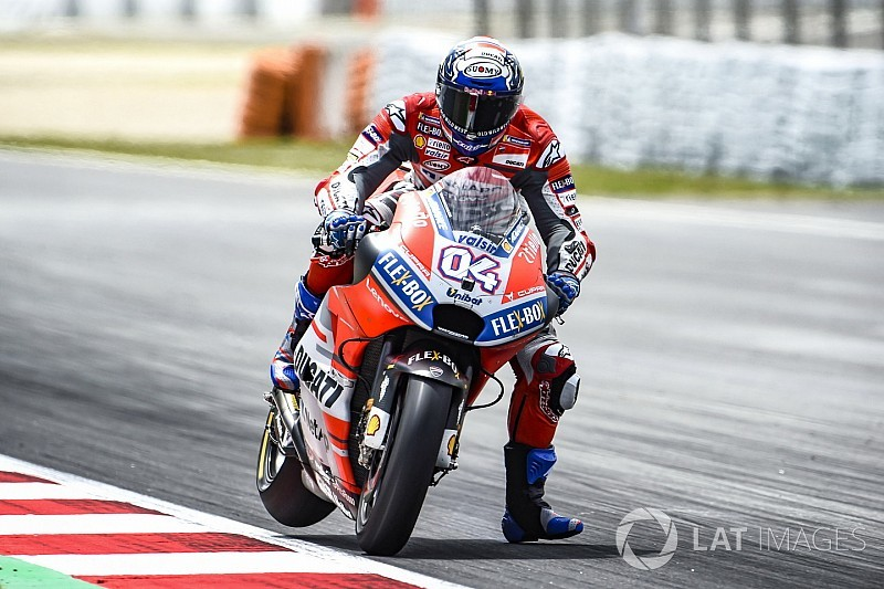 Dovizioso aan kop in derde training, Marquez richting Q1 na crash