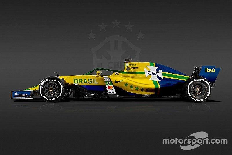 """Fotogallery: la Formula 1 si """"veste"""" con i colori delle nazionali di calcio"""
