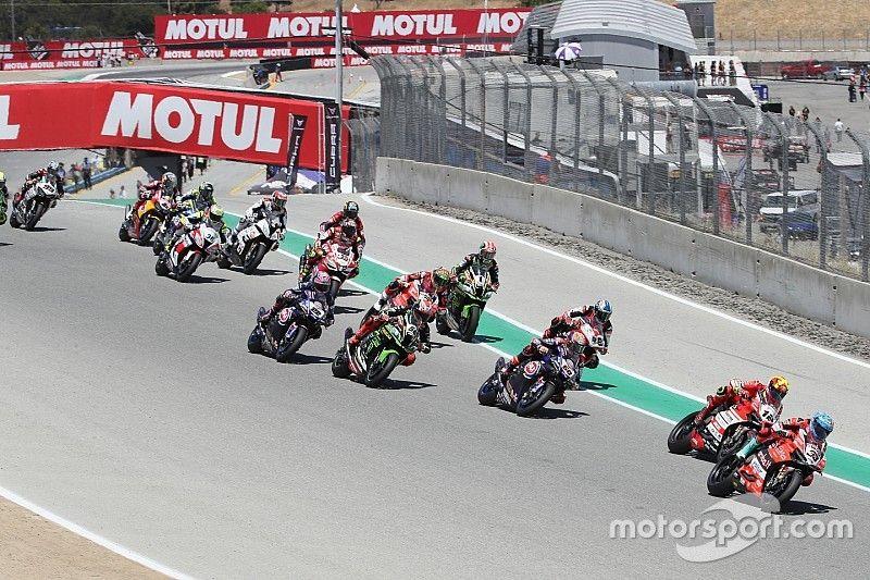 World Superbike no regresará a Laguna Seca en 2019