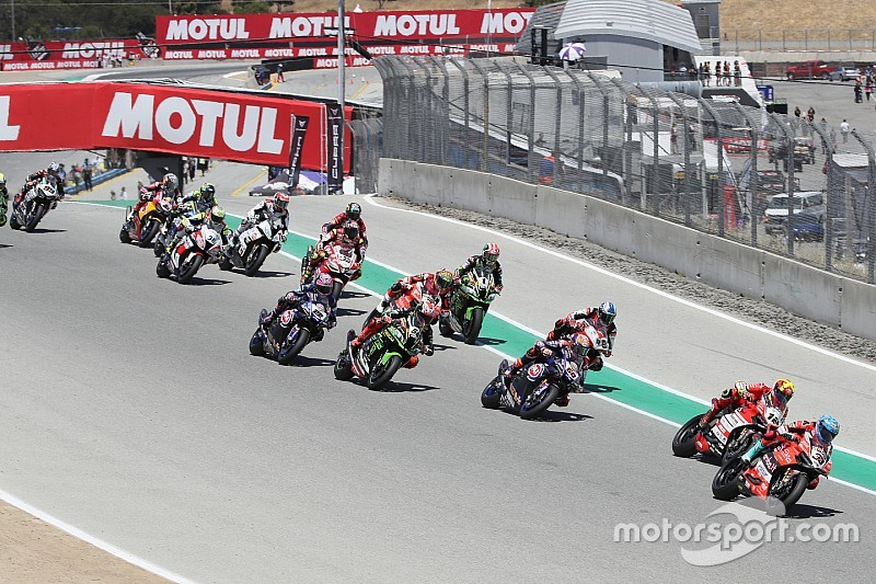 World Superbike no regresará a Laguna Seca en 2019